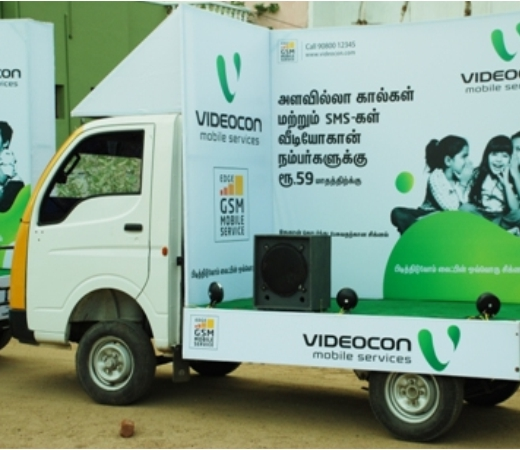 mobile auto advertising in coimbatore